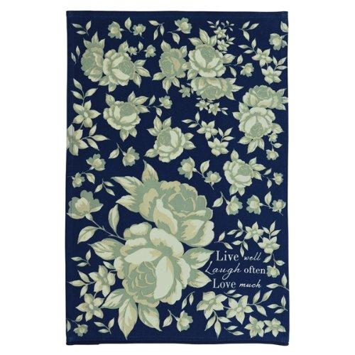 Grasslands Road In the Blue Guest Towel