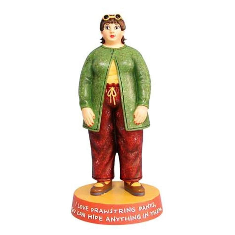 Women of Substance Revilo Drawstring Pants Figurine by Westland Giftware