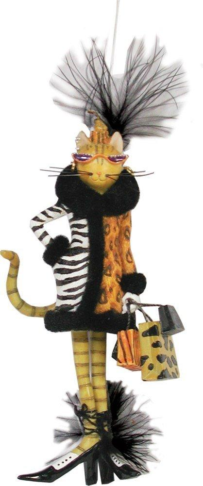 Westland Giftware Catwalk Exotic Cat Hanging Figurine/Ornament