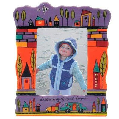 Dreaming of Road Trips Purple Picture Frame