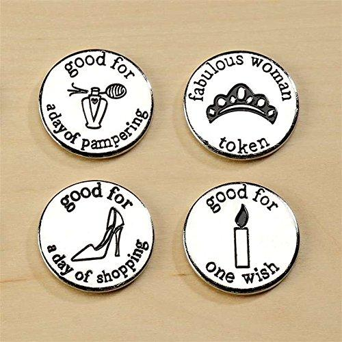 Fabulous Woman Tokens, Set of 4, by Giftcraft