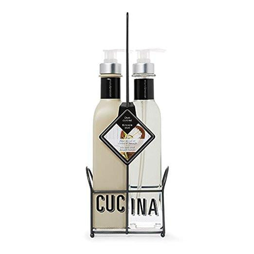 Cucina Sea Salt and Amalfi Lemon Kitchen Duo