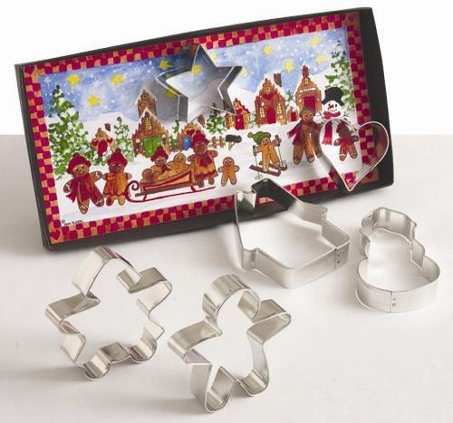 Gingerbread Cookie Cutter Gift Set by Ann Clark