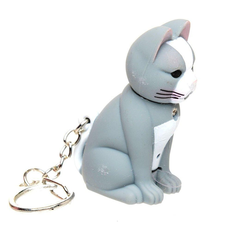 Light up Cat Keychain by Casanova - casanova