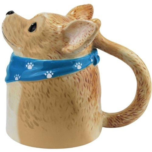 Aye Chihuahua Bottoms Up Ceramic Mug