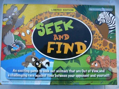 Montgomery Enterprises Seek & Find Limited Edition Game