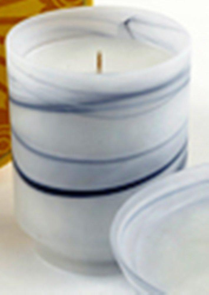 Prosperity Catalyst Akkadian Collection Elemental Earth Glass Candle - Prosperity Catalyst