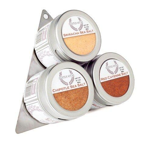 Gustus Vitae Red Hot Sea Salts Collection