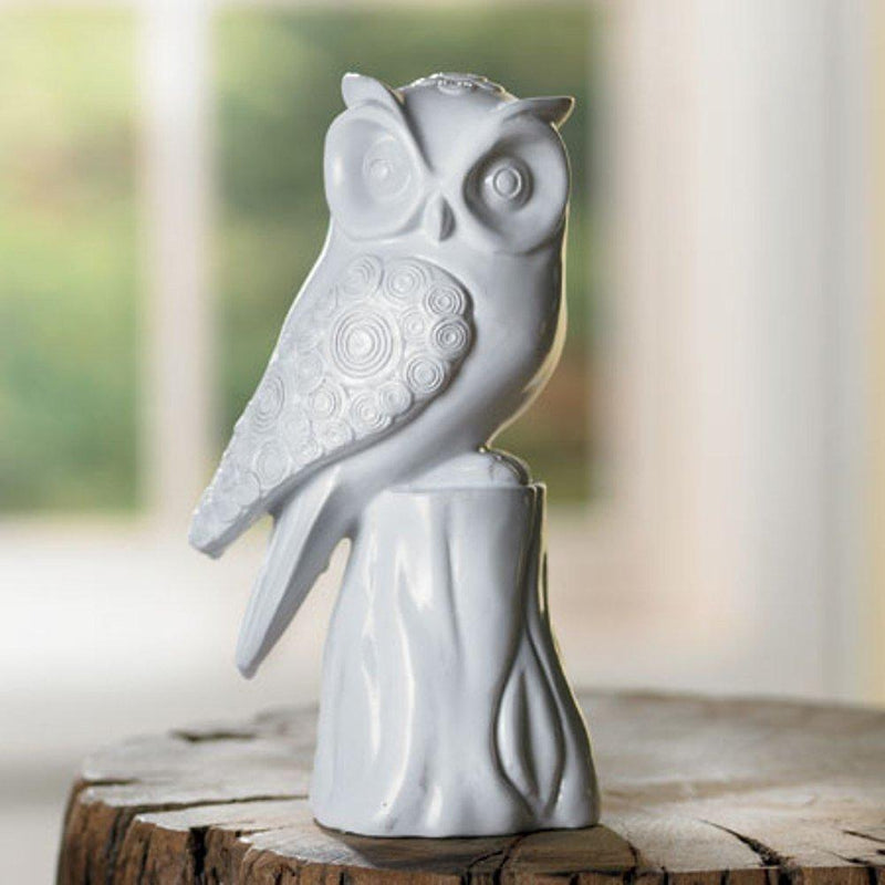 India Handicrafts Ceramic Owl Paperweight