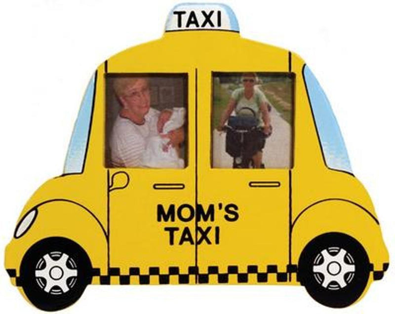 Westland Giftware Mom's Taxi Magnet Photo Frame