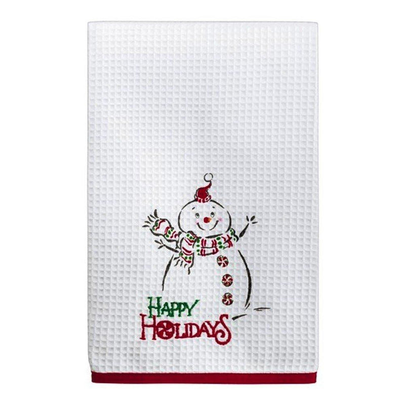 Grasslands Road Holiday Guest Towel with Coordinated Soap Dish - Choice of 6 Styles, ms