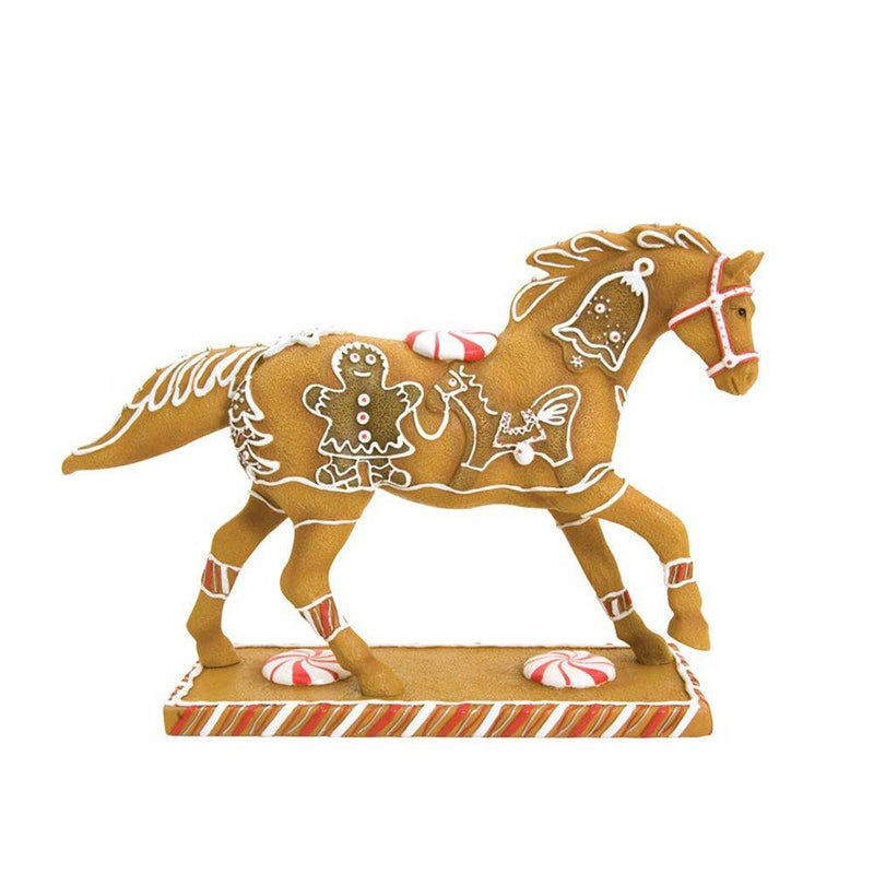 Trail of Painted Ponies Gingerbread Pony Figurine 6-1/4-Inch