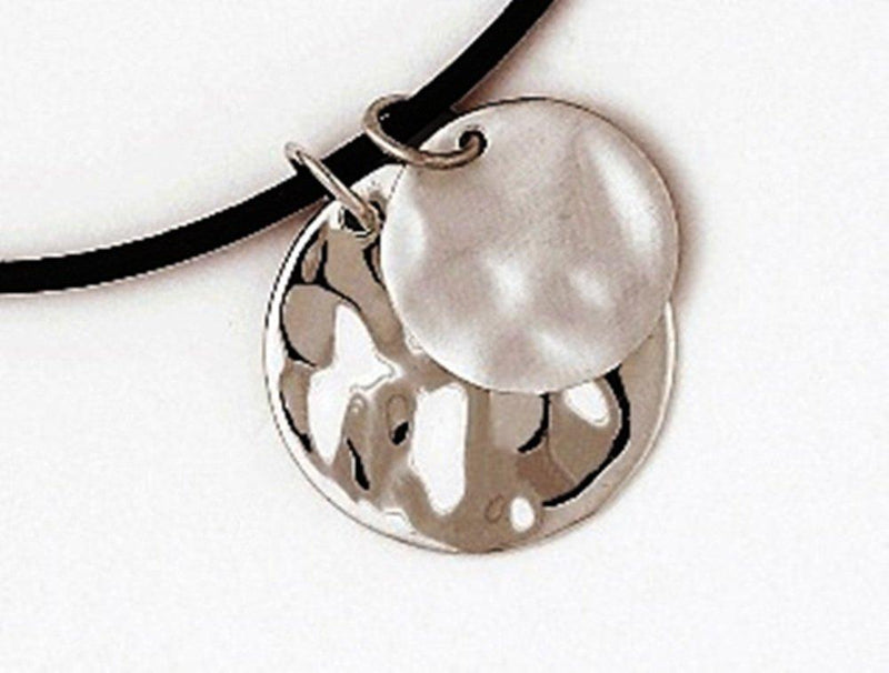 Baroni Designs Hammered Sterling Silver Pendant