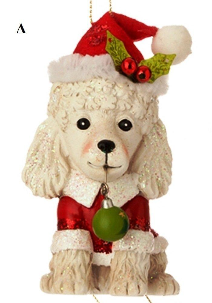 RAZ Night Before Christmas, Dog Ornament, Choice of Style, A