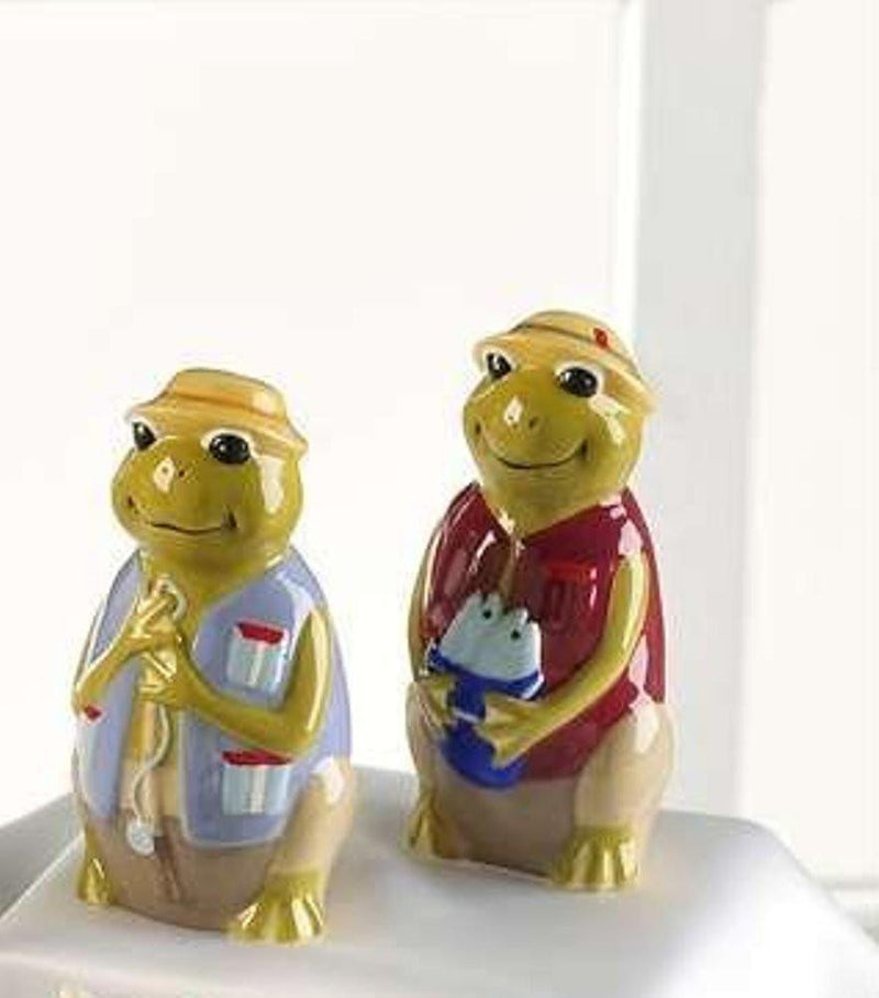 Animal Salt & Pepper Shaker - Choice of Styles by Giftcraft, Frogs
