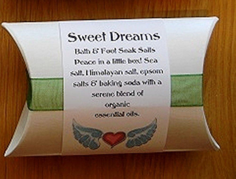 Deep Breath Designs Handmade Bath & Foot Soak Salts, Sweet Dreams