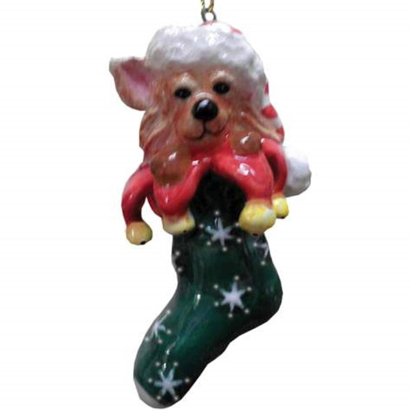 Calypso Aye Chihuahua Christmas Ornament Collectible