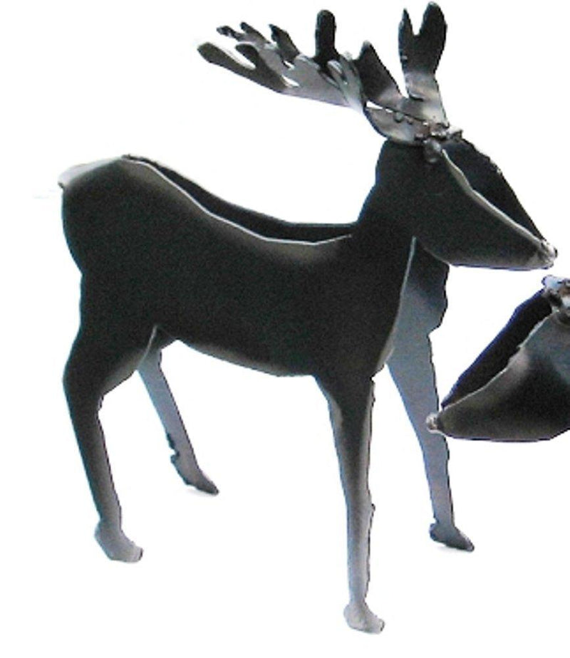 Metallic Evolution Rustic Deer Figurine, Handmade in Canada - Metallic Evolution