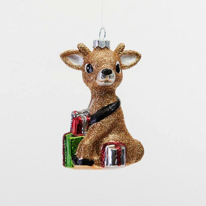 One Hundred 80 Degrees Baby Reindeer Ornament