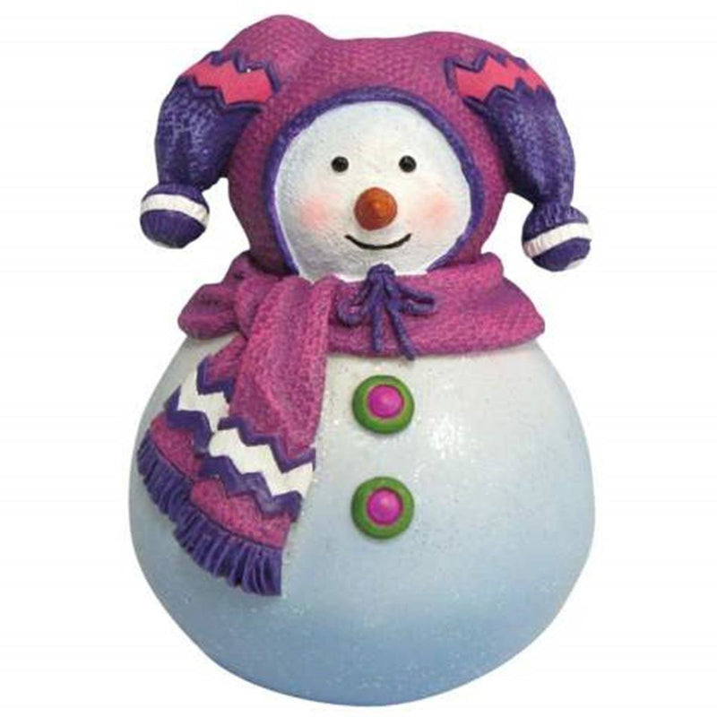 Westland Giftware Trixi Roly Poly Figurine in Purple