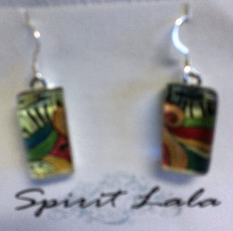 Spirit LaLa Dance to Your Own Beat Music Earrings, Made in the USA - Spirit Lala