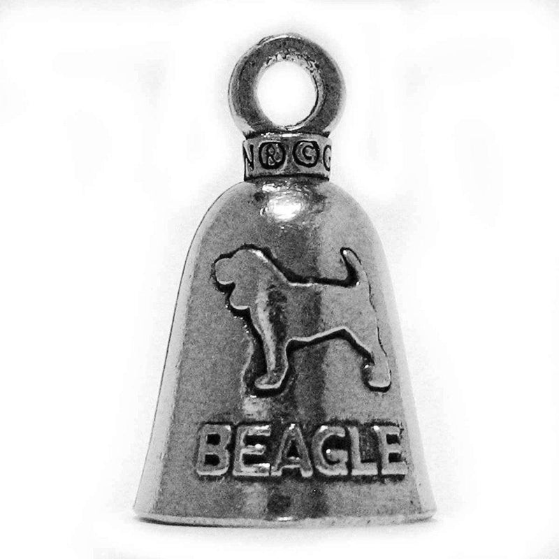 Pewter Guardian Bell, Beagle, Made in the USA