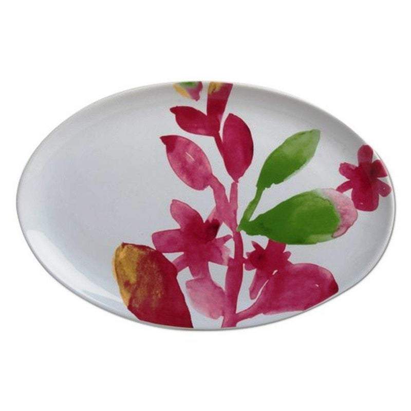 TAG Blossoms Watercolor Platter