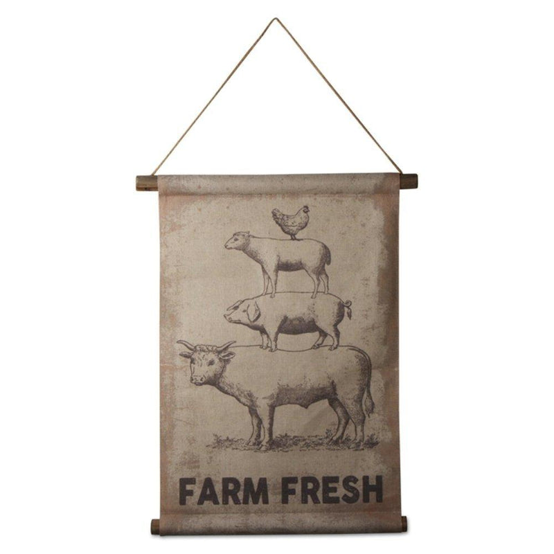 TAG Farmhouse Collection Farm Fresh Scroll - TAG