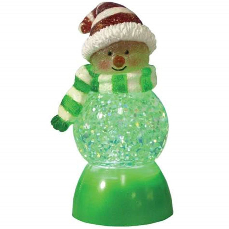 Sweets in Red Green and White Illuminated Collectible Figurine