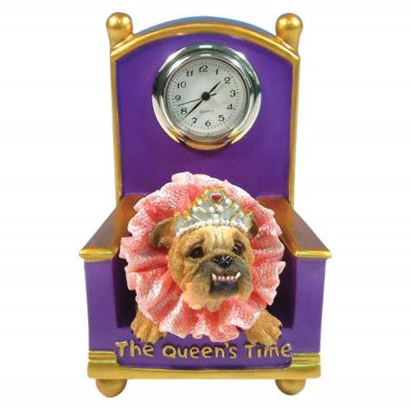 Westland Giftware Zelda Wisdom The Queen's Time Mini Clock, Retired