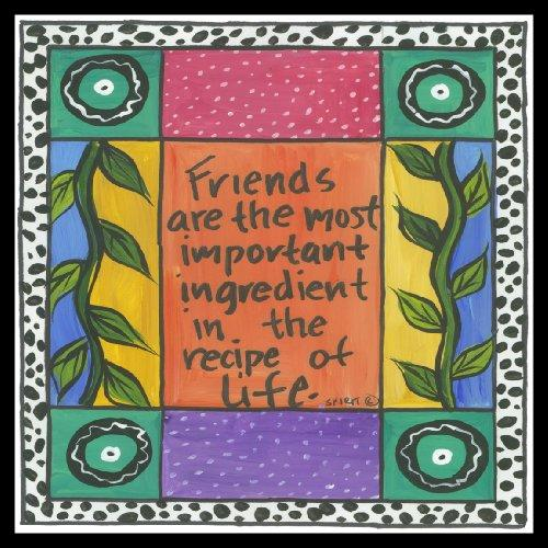 Friends Are The Most Important Ingredient Magnet