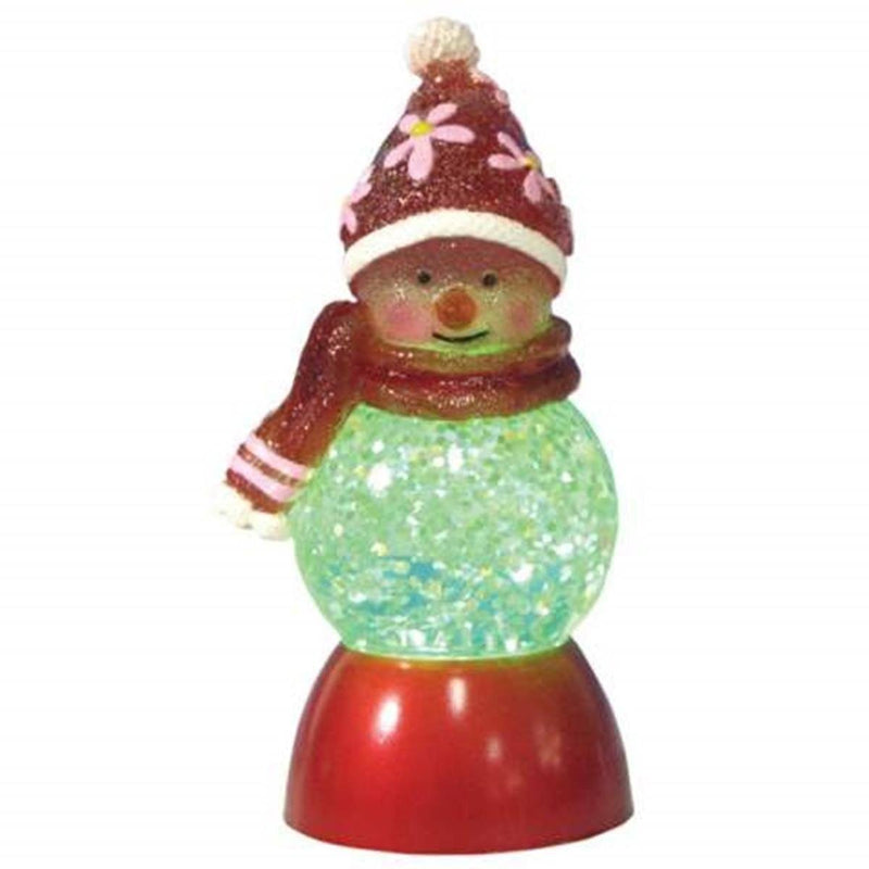 Rosey in Red and Pink Illuminated Collectible Figurine