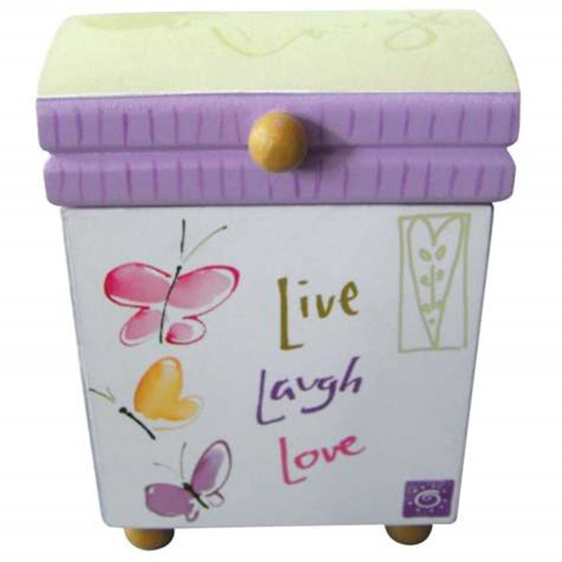 "Kathy Davis ""Live, Laugh, Love"" Mini Box by Westland Giftware"