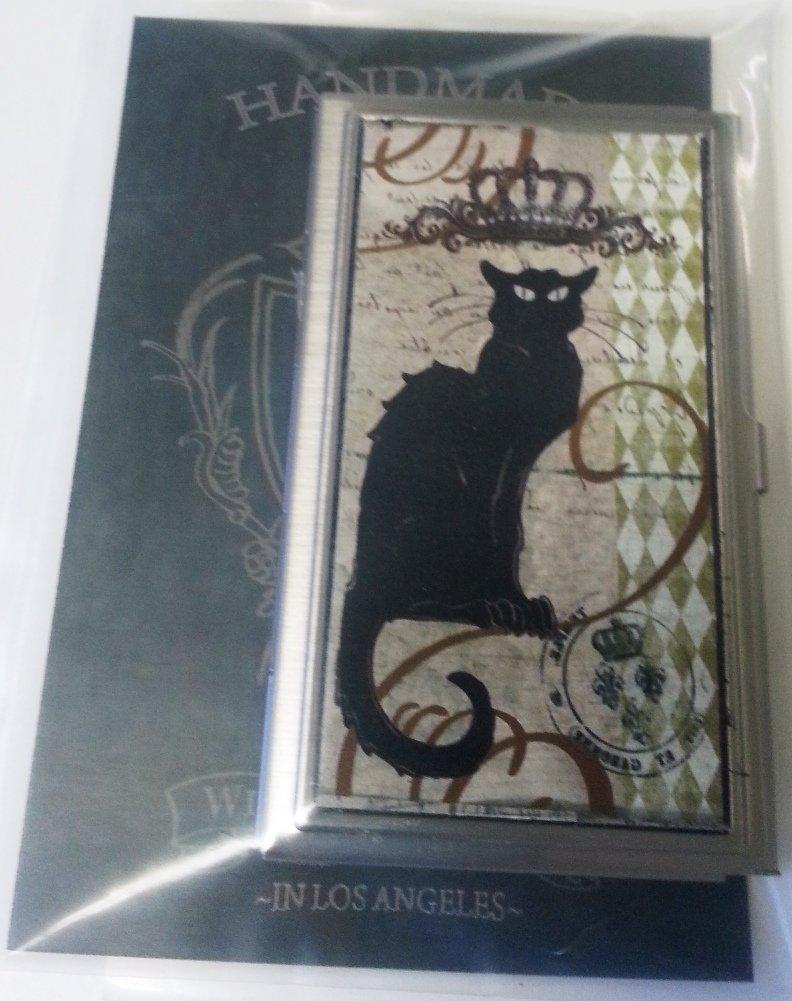 KBD Studio ID Case/Business Card Holder, Royal Cat, Made in the USA