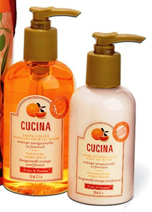 Cucina Purifying Handwash and Hand Cream Set