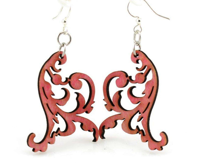 Swaying Vines Earrings by Green Tree Jewelry, Made in the USA - Green Tree Jewelry