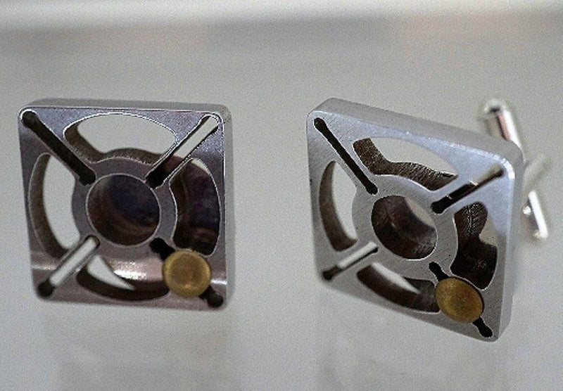 Criffin Designs Riot Call Cufflinks, Made in the USA - Criffin Designs