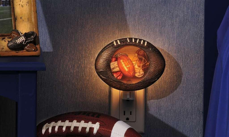 Football Nightlight by Giftcraft - Gift Craft