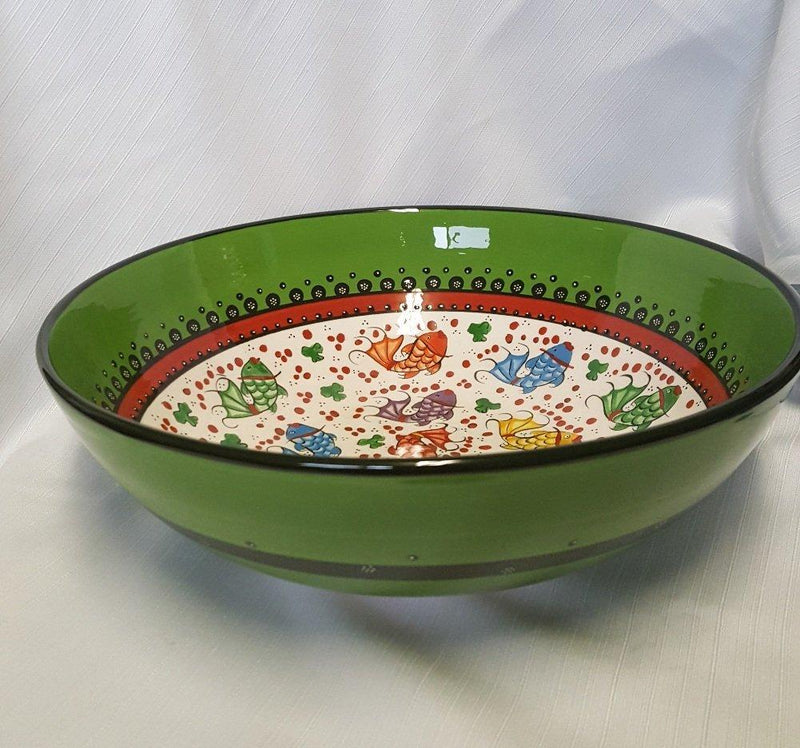 Evani Creations Handmade Fish Serving Bowl