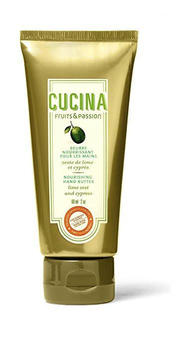 Cucina Lime Zest and Cypress 2.0 oz Nourishing Hand Butter - Cucina