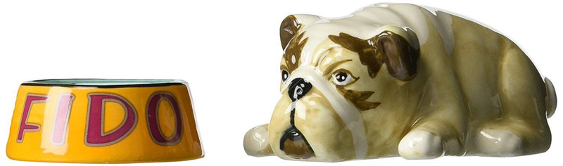 Westland Giftware Fido and Pet Bowl Salt and Pepper Shakers - Westland Giftware