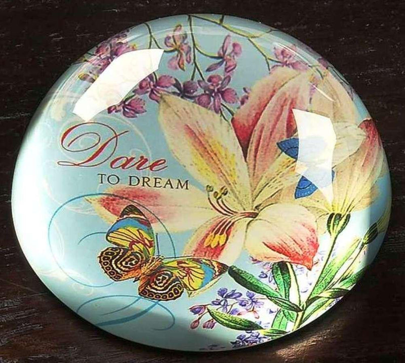 Bella Boutique Dare to Dream Paperweight by Giftcraft