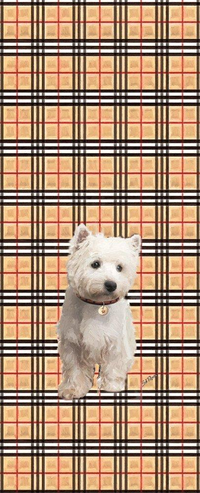 Poppa-Artzee Wine Bottle Bag, Westie - Poppa-Artzee