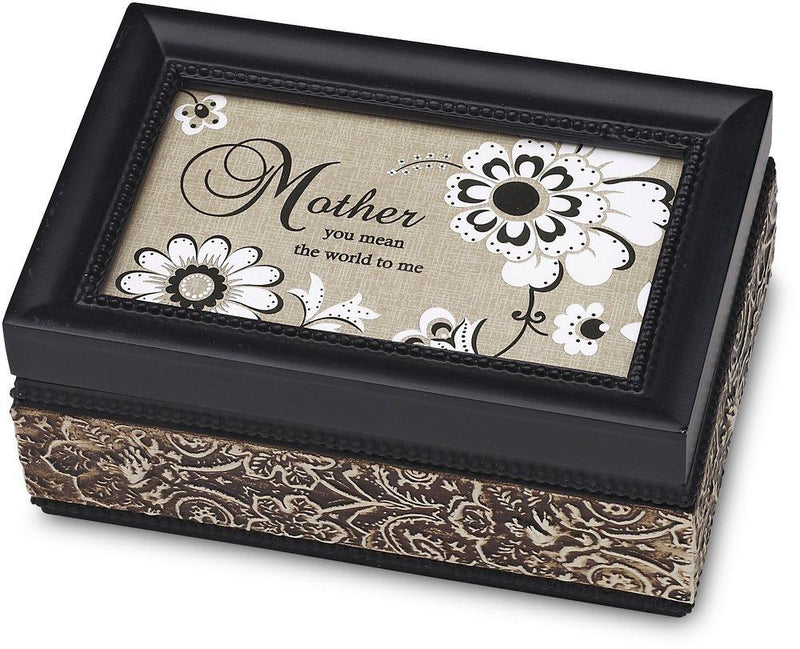 Modeles 4 by 6-Inch Mother Music Box