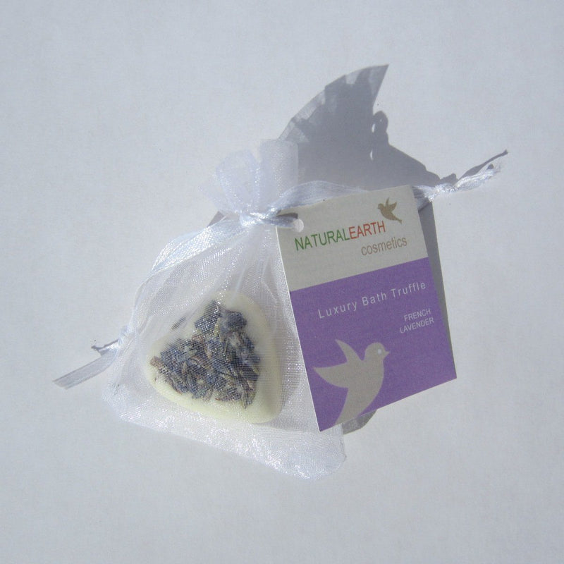 Natural Earth Cosmetics, French Lavender Bath Truffle, Made in the USA - Natural Earth Cosmetics