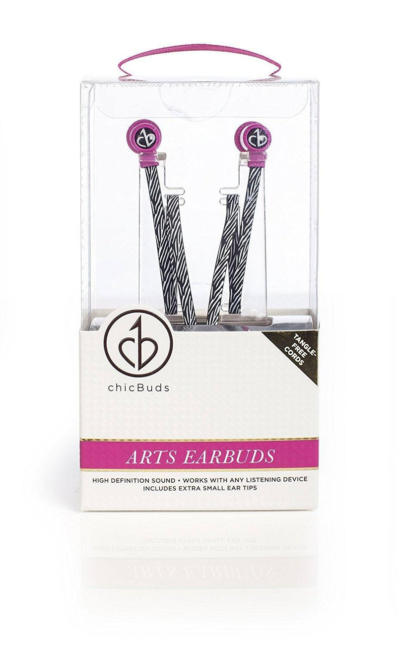 Chic Buds Arts Cables, Zebra