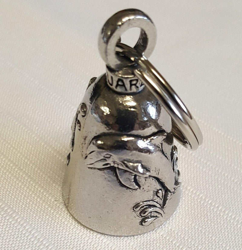 Pewter Guardian Bell, Dolphin, Made in the USA