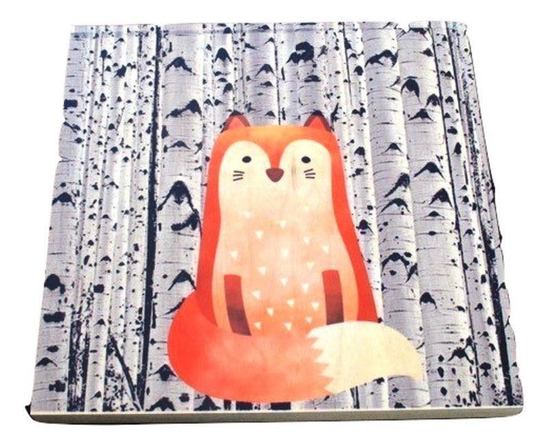 GP Originals Forest Friends Wood Wall Art Plaque, Fox