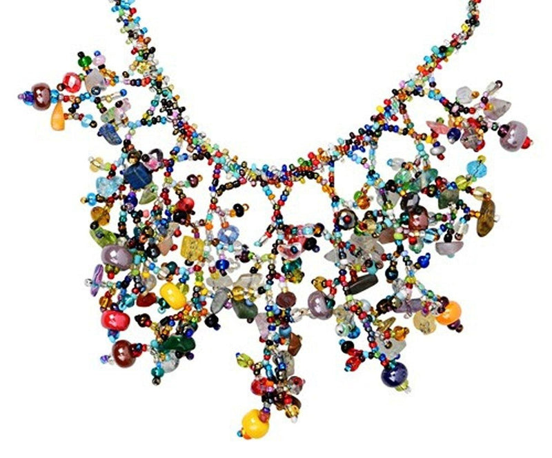 Bamboo Trading Company, The Joy Collection, Joy! Hand-beaded Necklace - Gifts From A Distance
