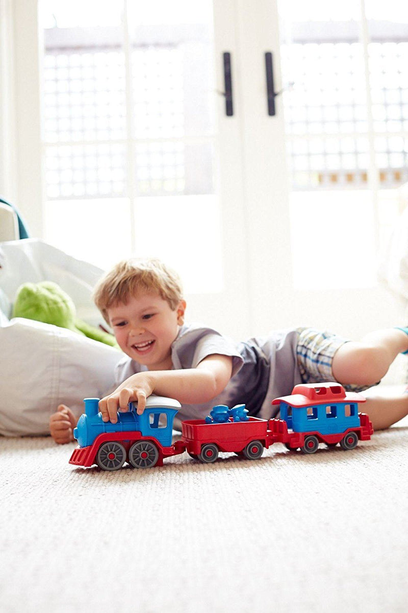 Green Toys Train, Blue/Red